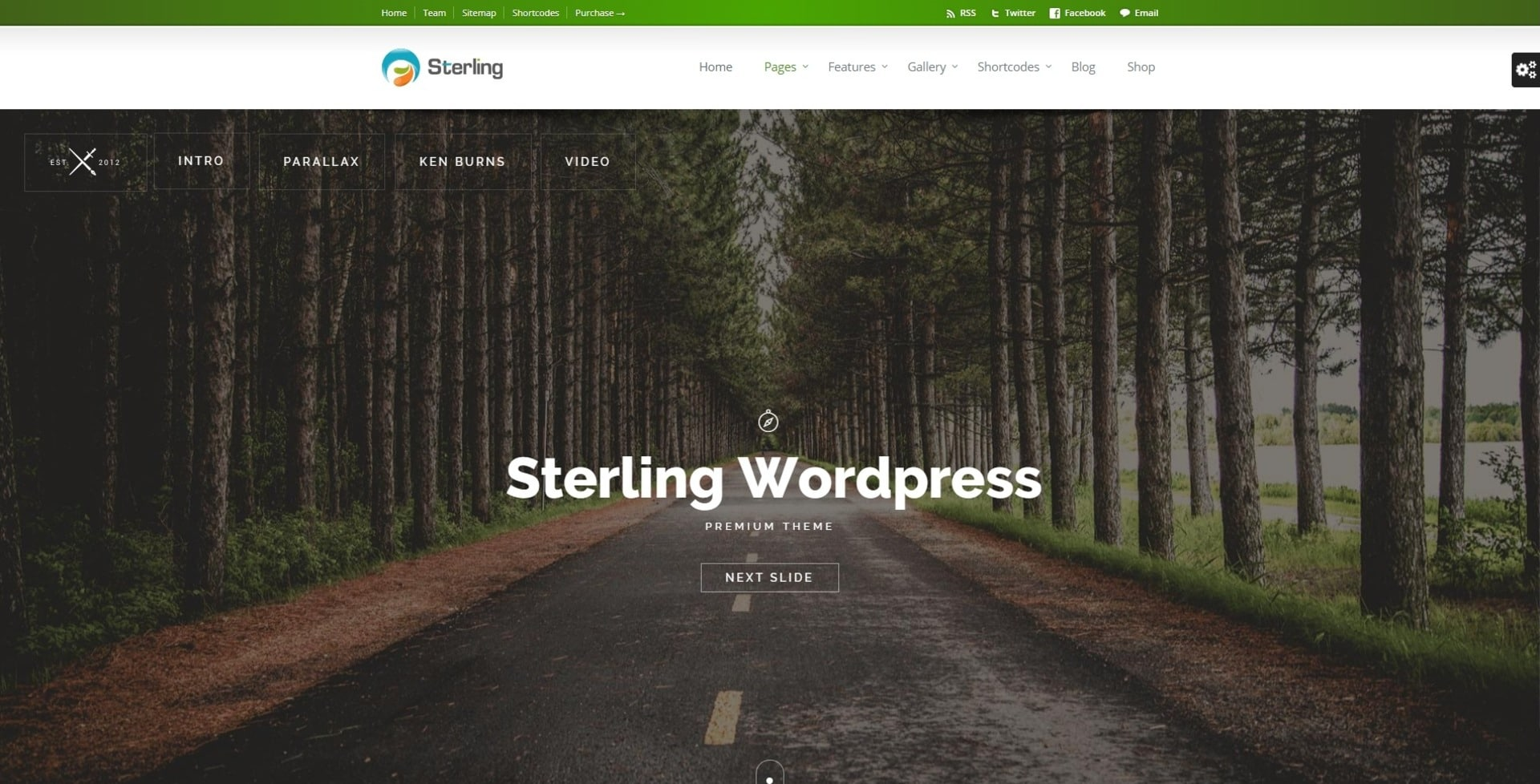 WordPress Theme for bussiness