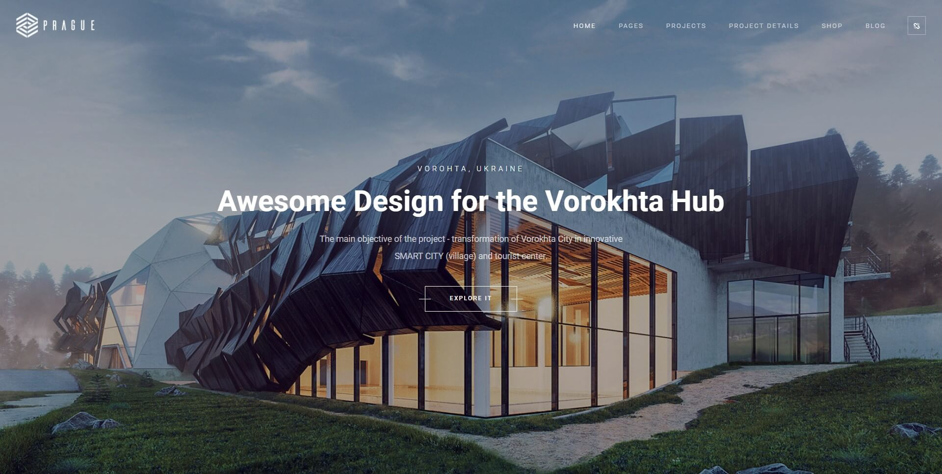 WordPress for architecture